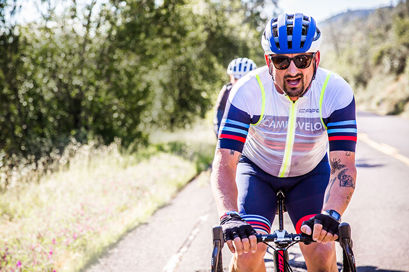 Chef Chris Cosentino Cycling