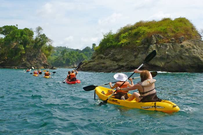 Costa Rica Family Kayaking