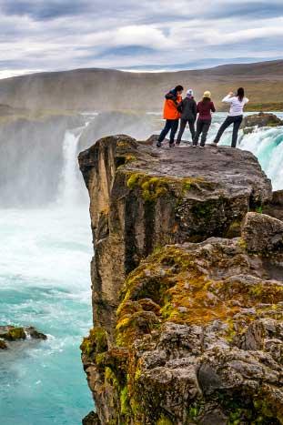 Waterfall - Northern Iceland Walking & Hiking Tour
