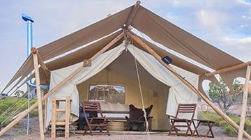 Under Canvas Zion Safari Tents