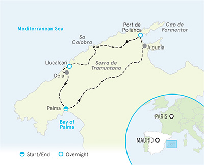 Mallorca Biking Map
