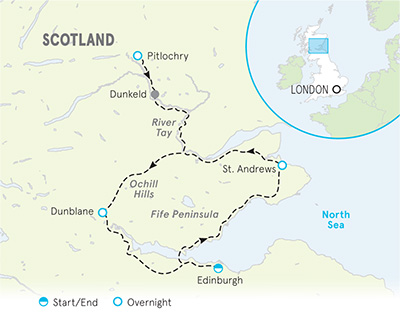 Scotland Bike Map