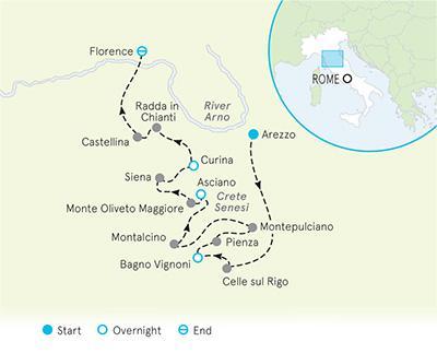 Biking in Tuscany: Pienza to Siena & Chianti | Backroads