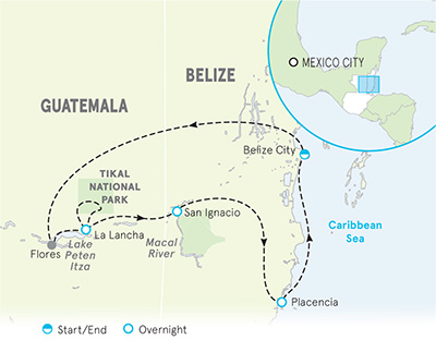 Belize Map