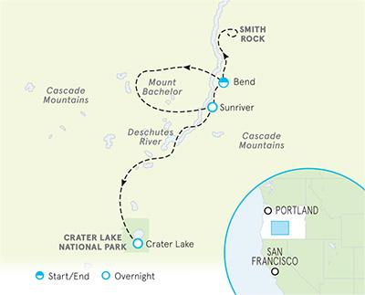 Southern Oregon Map