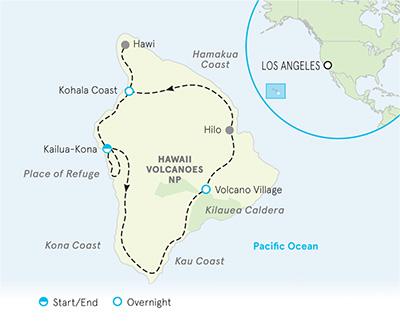 Hawaii Multi-Adventure Map
