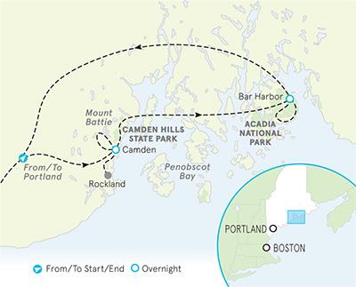 Maine Multi-Adventure Map