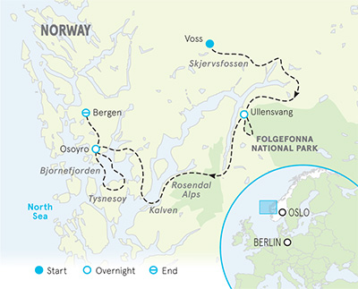 Norway Family Multi-Adventure Tour - Older Teens & 20s