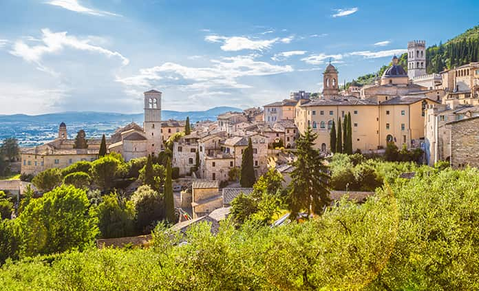 Umbria to Adriatic Bike Tour