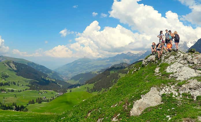 Switzerland walking and hiking tour