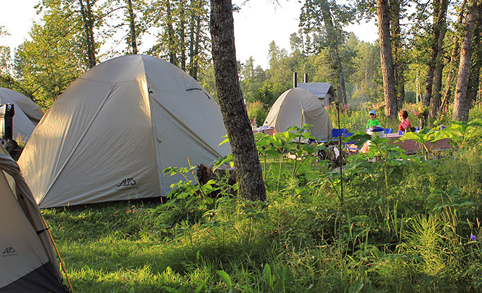 Backroads Dome Tents