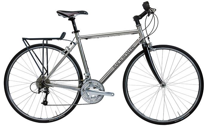 Backroads Custom Titanium Bike Drop Handlebars