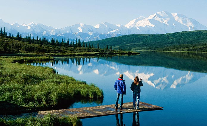 Denali National Park walking and hiking tour
