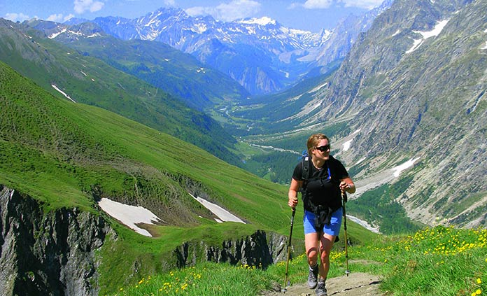 Italian, French & Swiss Alps Hut-to-Hut Hiking Tour