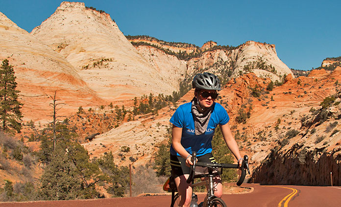 Bryce & Zion Utah Bike Tour