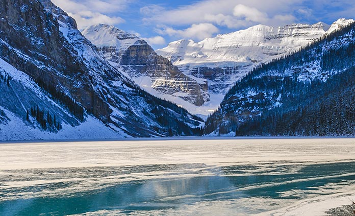 Canadian Rockies Winter Snow Adventure Tour