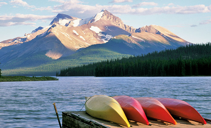 Banff to Jasper Multi-Adventure Tour