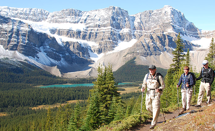 Canadian Rockies Walking and Hiking Tour