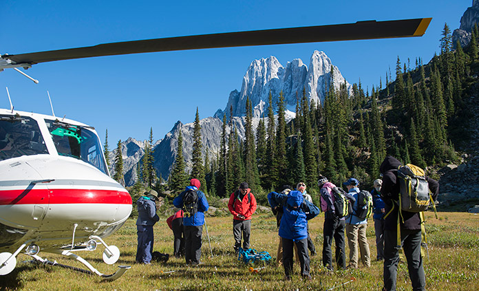 Candian Rockies Heli-Hiking Tour