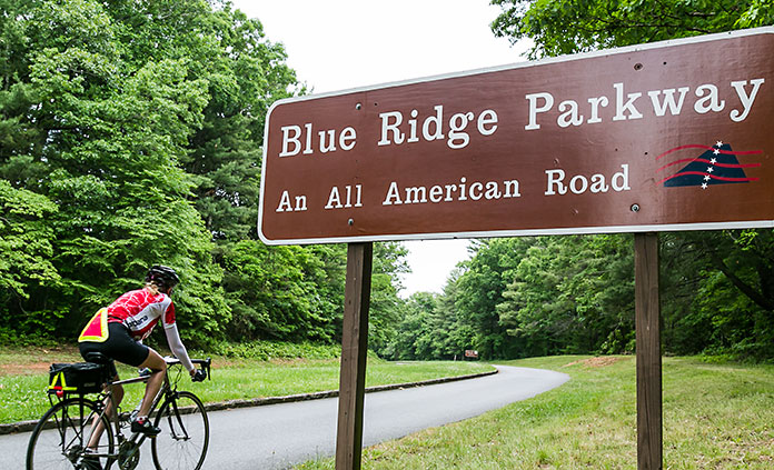 North Carolina and South Carolina bike tour