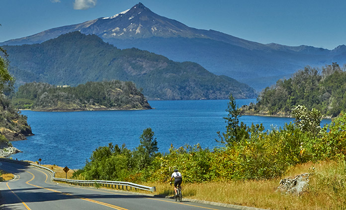 Chile's Volcanoes & Lake District Bike Tour