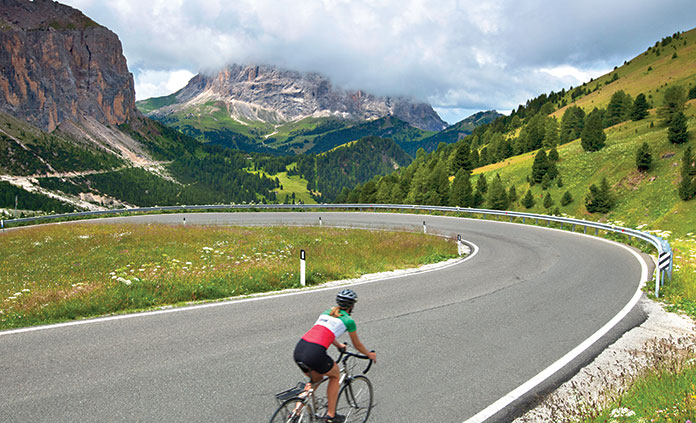 Dolomites Bike Tour