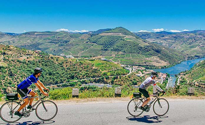 Portugal's Douro River Cruise Full Ship Celebration Bike Tour