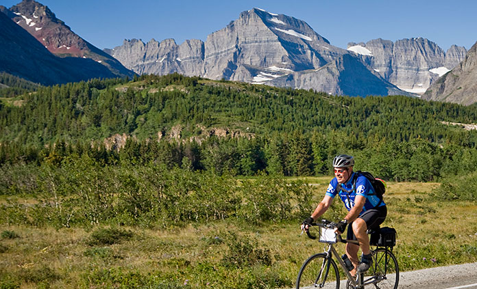 Glacier and Waterton Lakes Bike Tour