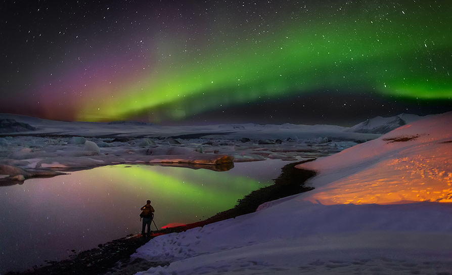 Northern Lights of Iceland Snow Adventure Tour