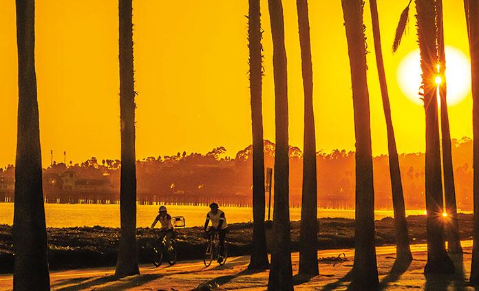 Santa Barbara and Ojai Valley bike tour