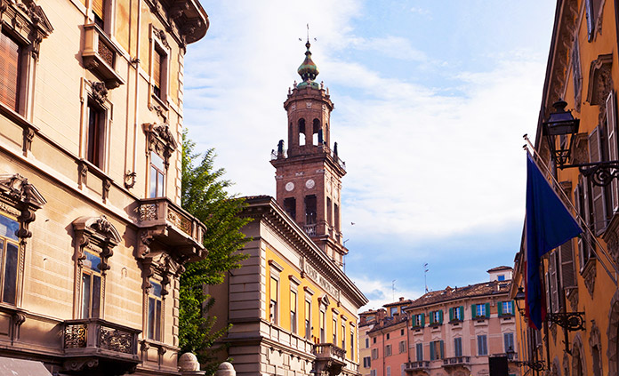 Parma and Verona Italy Bike Tour