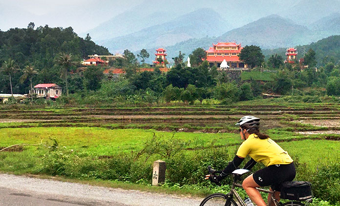 Vietnam and Cambodia bike tour