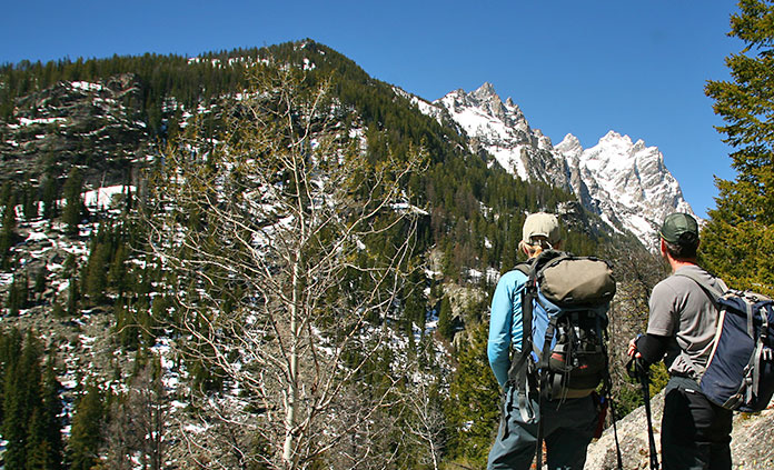 Yellowstone and Tetons Walking and Hiking Tour