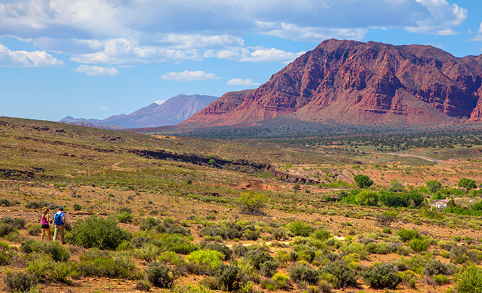 Zion and Snow Canyon Walking and Hiking Tour