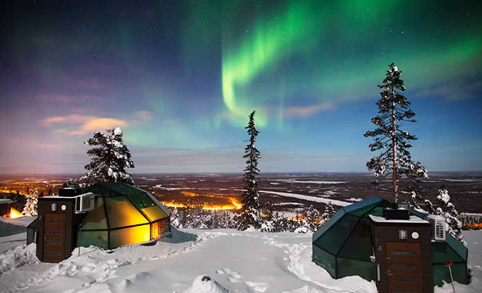 Finland & Sweden Northern Lights Multi-Adventure Tour