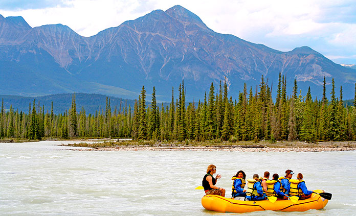 Banff to Jasper Multi-Adventure Tours