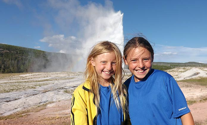 Yellowstone and Tetons National Parks Family Camping Tour