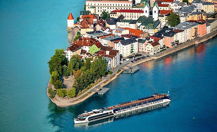 Danube Full Ship Celebration River Cruise Bike Tour