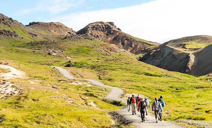 Southern Iceland Walking and Hiking Tour
