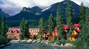 Post Hotel, Lake Louise, Banff NP, Canada