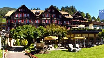 Romantik Hotel Schweizerhof, Grindelwald, Switzerland