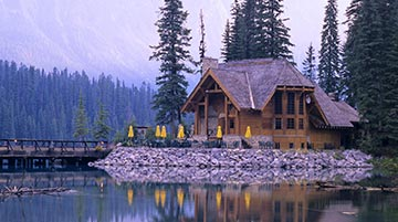 Emerald Lake Lodge, Yoho National Park, Canada