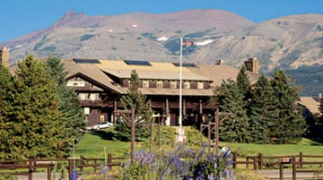 Glacier Park Lodge, Glacier National Park, Montana