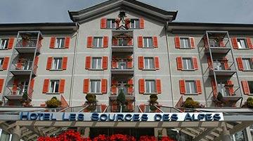 Les Sources des Alpes