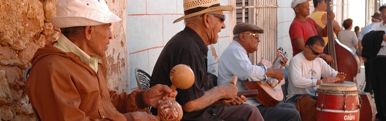 Cuban Street Musicians - Cuba People-to-People Family Breakaway Multisport Tour