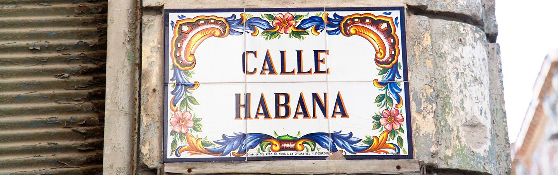 Calle Habana, Cuba