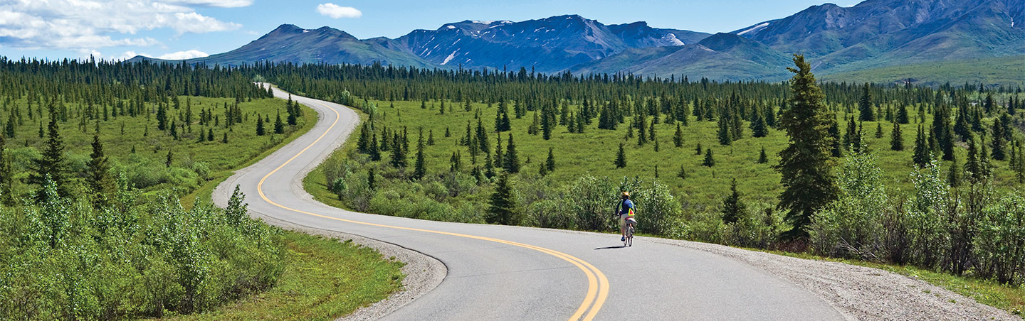 Biking - Backroads Alaska's Kenai Peninsula Multisport Adventure Tour