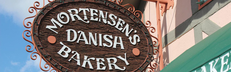 Solvang, Mortensen's Danish Bakery - Backroads California Coast Bike Tours