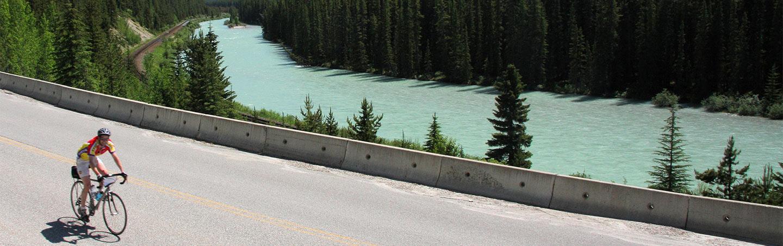 Cycling on Backroads Canadian Rockies Bike Tour