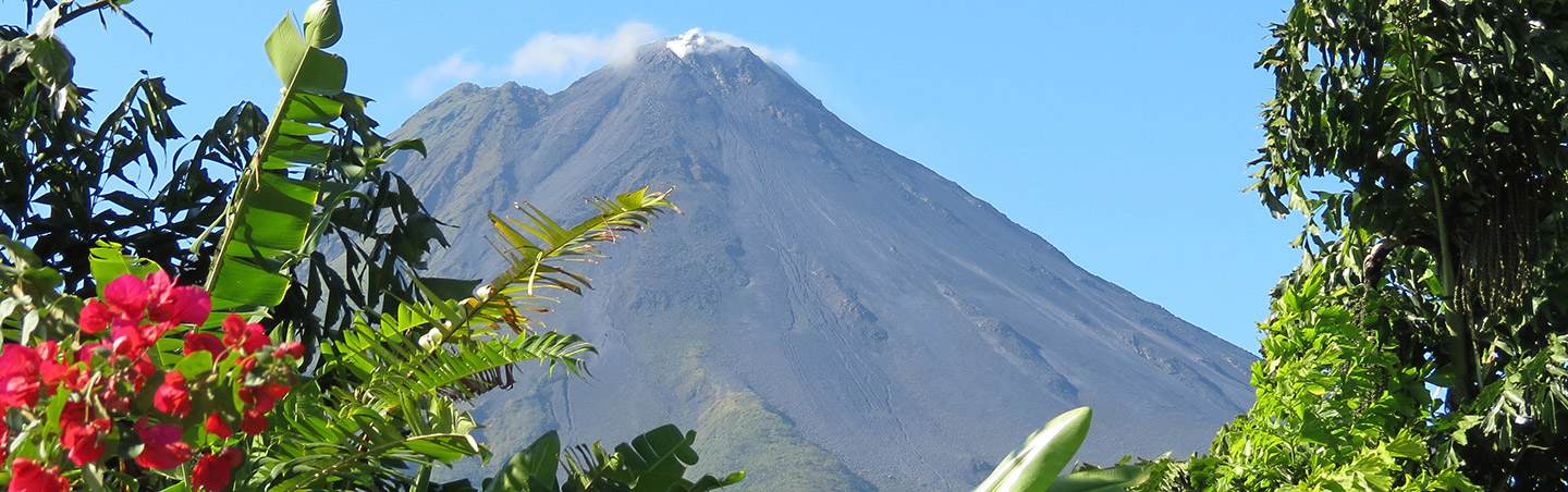 Arenal Volcano on Backroads Costa Rica Bike Tours